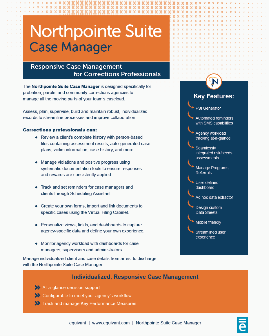 Northpointe Suite Case Manager
